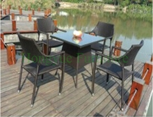 PE rattan outdoor furniture tables outdoor furniture sets