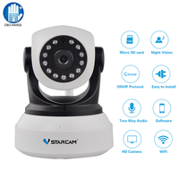 VStarcam Wireless Security IP Camera WiFi Onvif Infrared 720P HD Audio Video Surveillance Network Indoor Baby