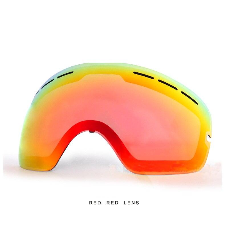 BENICE Brand  Ski Goggles Men Women Winter Double Layer Defence Fog Night Vision Lens Brightening Lens Snowboard Glasses