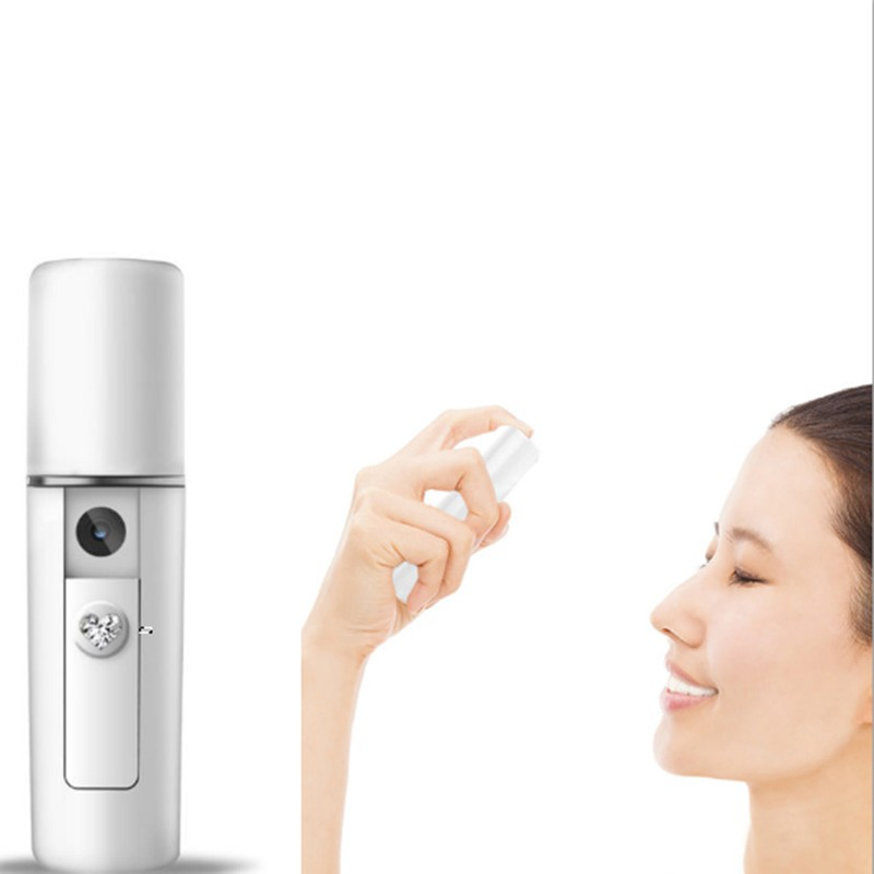 Portable Facial Moisturizing Beauty Instrument USB Charging Nano Mist Spray Handy Atomization Device Beauty Tool(China)