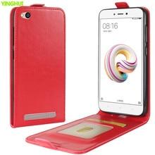 Чехол для телефона Xiaomi Redmi 5A, чехол, роскошный кожаный Вертикальный флип-кошелек, чехол для телефона Xiaomi Redmi 5A, 5,0 дюймов