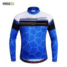 WOSAWE Men's Women's Jersey Cycling Motorcycle Motocross Racing Downhill MTB Bike 3D Padded Jacket Jerseys Wear Cycling Clothing