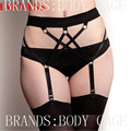 2016 New women Sexy Garter-Belt Gothic Bondage Harness garter/Bridal Wedding Garter Belt/Fetish Lingerie,Goth Style,Rave Wear