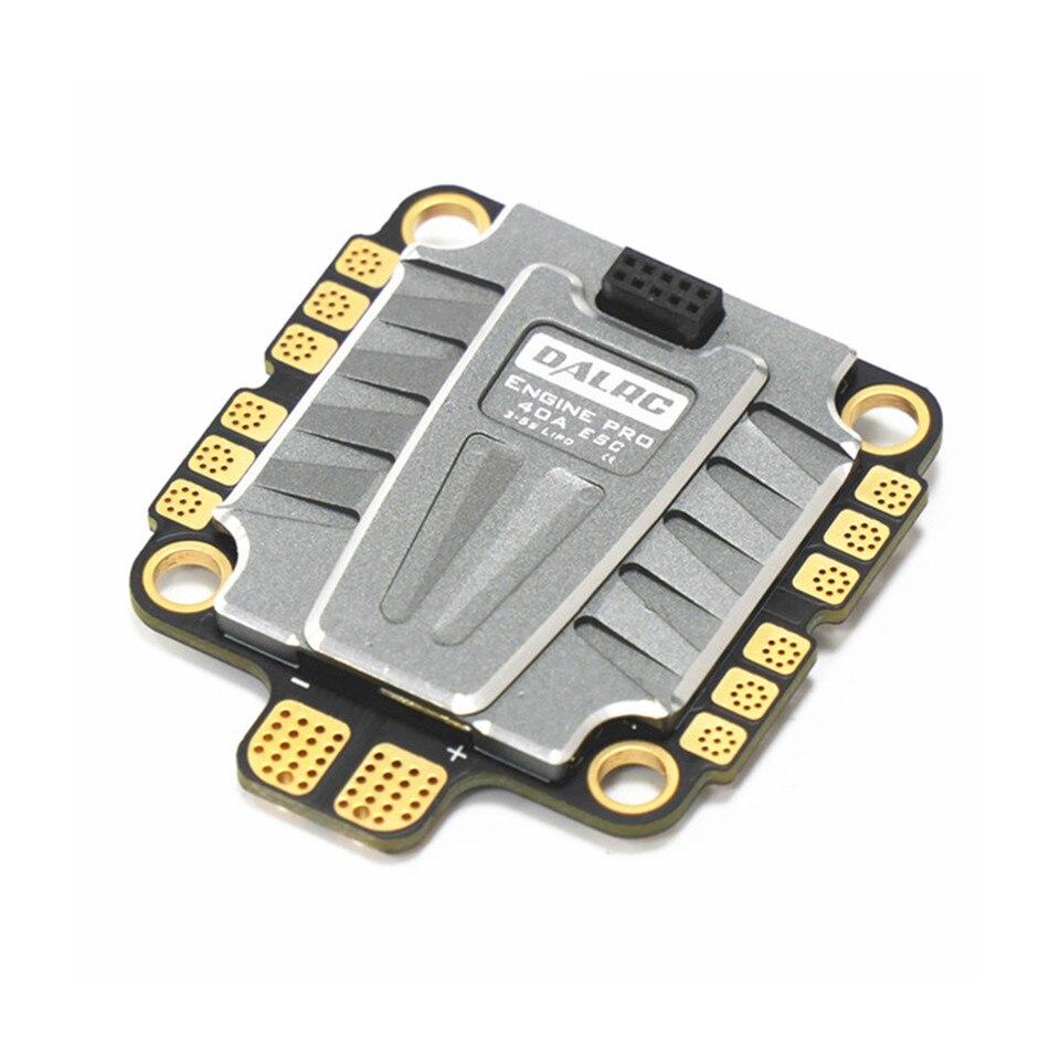 DALRC ENGINE PRO 40A 4IN1 ESC 3 S-5 S Blheli_32 4 en 1 ESC Brushless DSHOT1200 prêt 5 V 3A BEC 40A pour Drone de course FPV