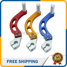 3 Colors High Quality Motorcycle Parts Aluminum Foldable Clutch Lever Fits For Most Motorcycle And ATV Free Shipping