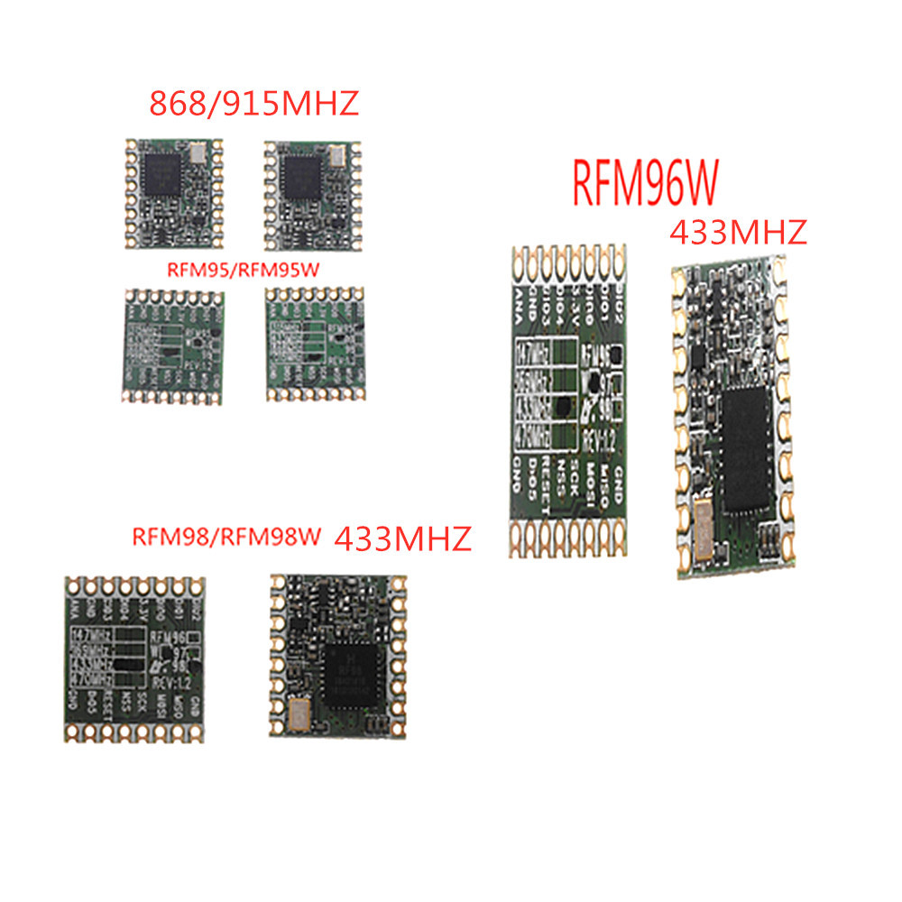 Unterhaltungselektronik Rfm95 Rfm95w Rfm96w Rfm98w Wireless Transceiver Modul Hoperf Original Fcc/rohs/etsi/erreichen Zertifiziert Einfach Zu Schmieren