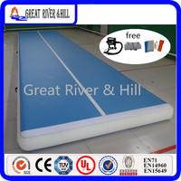 Great river & hill training mats air track Good bounce for gymnastics tumbling with free shipping and tax 6m x2m x20cm