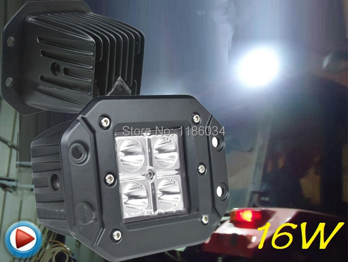 Free ship!3inch 16W 10~30V LED working light,2pcs/set,Black,6500K,for 4x4 car Excavator light,bicycle light,electri light angle sensor 4716888 for excavator ex120 2 ex120 3 ex200 2 ex200 3 free shipping