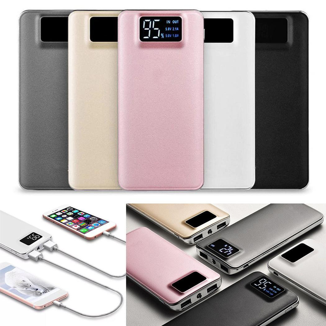 30000mah Power Bank Portable 2 USB Mobile Phone External Battery Charger Powerbank For Samsung iPhone Xiaomi Huawei Power Bank