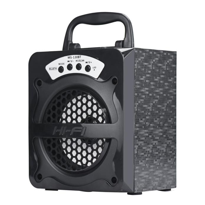 Speaker  Hot Fashion Style Outdoor Bluetooth Wireless Portable Speaker Super Bass with USB/TF/AUX/FM Radio Loud