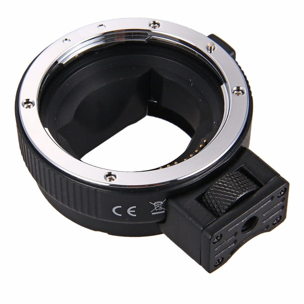 Adaptador de montaje de lente Auto Focus EF-NEX para Sony Canon EF EF-S lente a E-Mount NEX A7 A7R A7s NEX-7 NEX-6 5 completa - 4