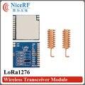 2 шт. 4 км диапазон Лора TM100mW SX1276 SPI интерфейс Чувствительность-139 дбм 868 МГц LoRa1276 рф междугородние передатчик и приемник