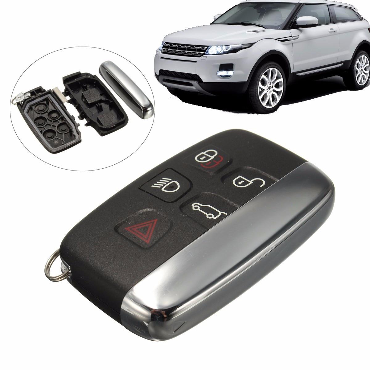 5 Button Remote FOB Key Case Cover Shell For LAND ROVER LR4 Range Rover Sport Evoque5 Button Remote FOB Key Case Cover Shell For LAND ROVER LR4 Range Rover Sport Evoque