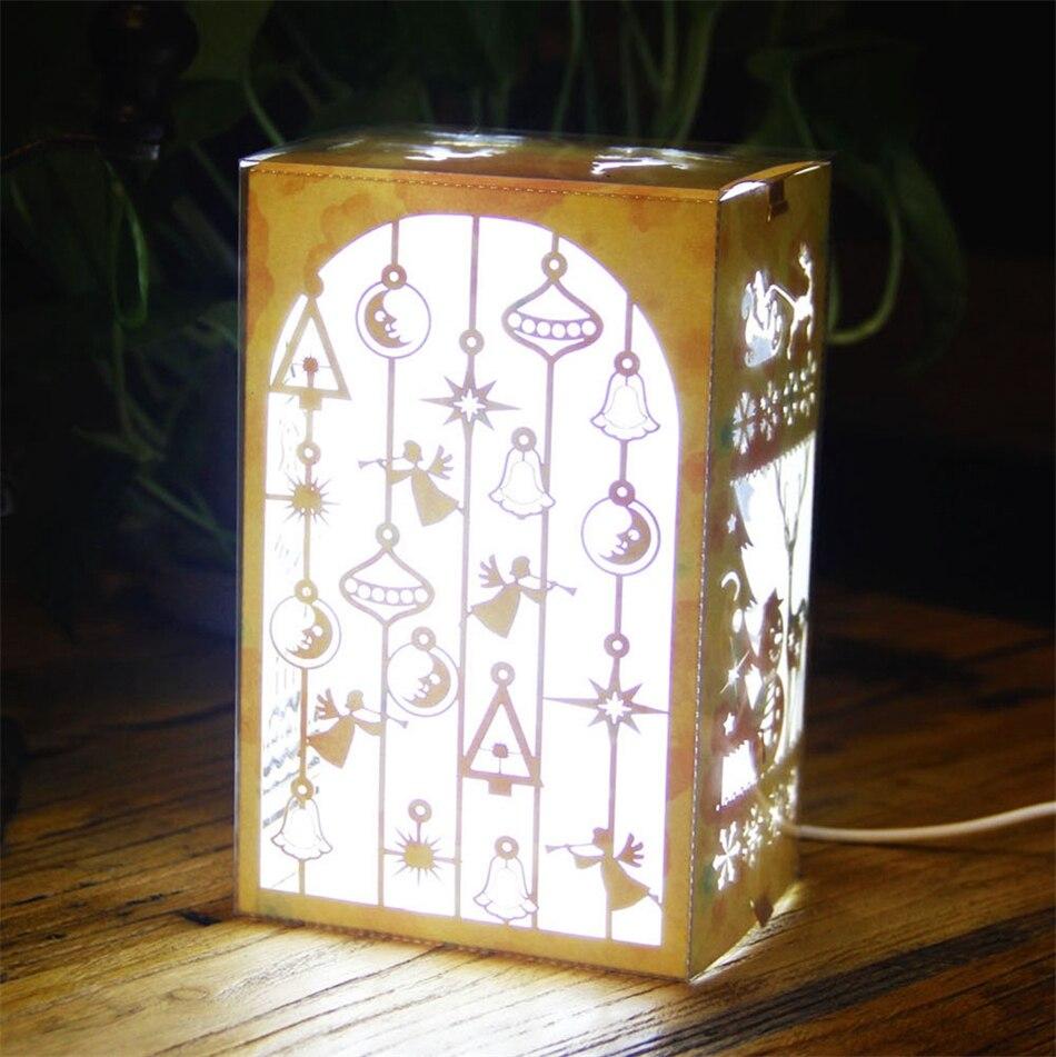USB LED Night Light Table