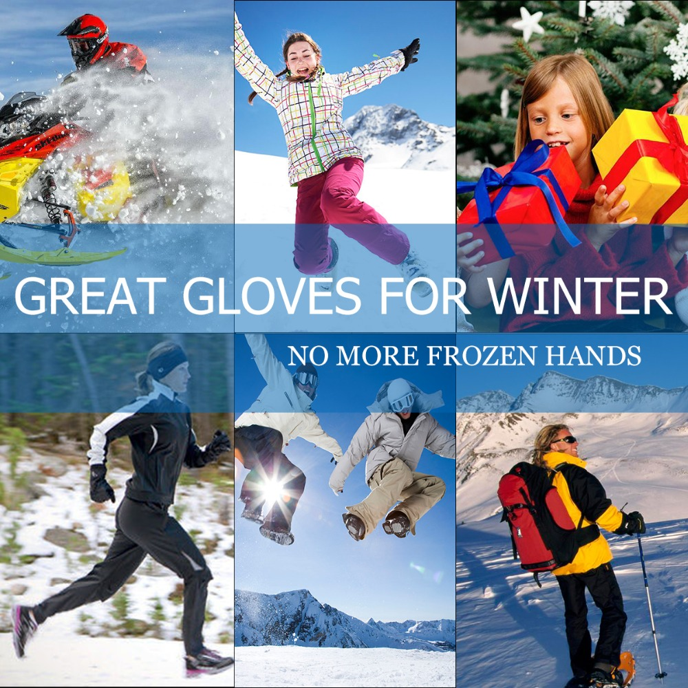SAVIOR Heated riding ski gloves light design five finger hand natural bending outdoor sports flexible unisex gloves in Cycling Gloves from Sports Entertainment
