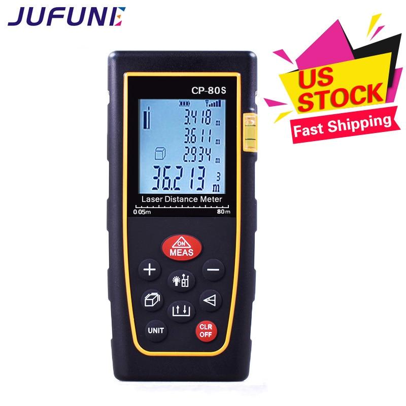 Misura del telemetro laser digitale Jufune CP-80S - Strumenti di misura - Fotografia 3