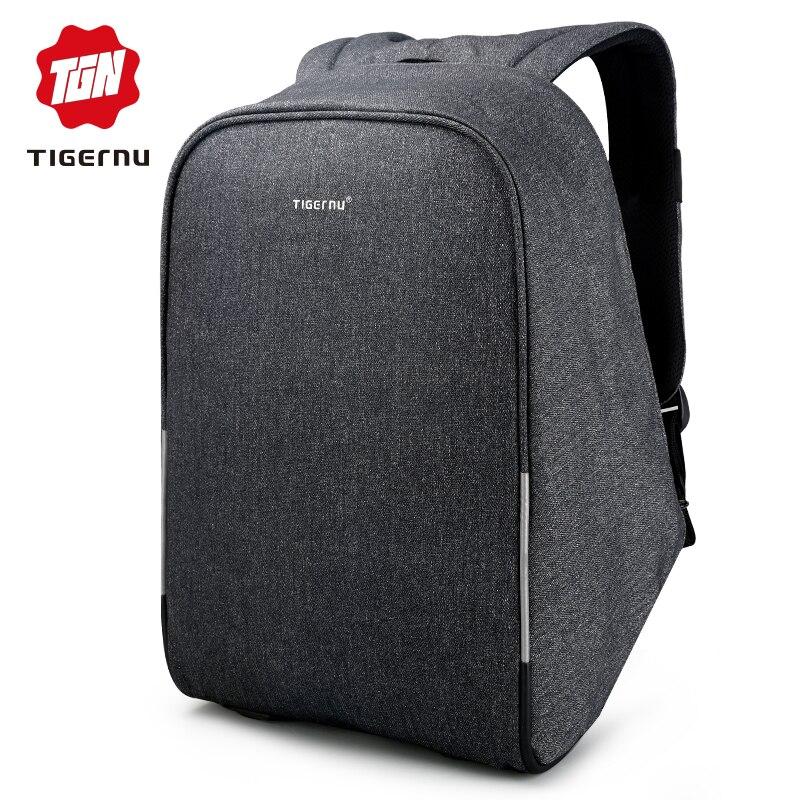 Tigernu Multifunction Waterproof Anti-thief USB 15.6inch Laptop Backpack