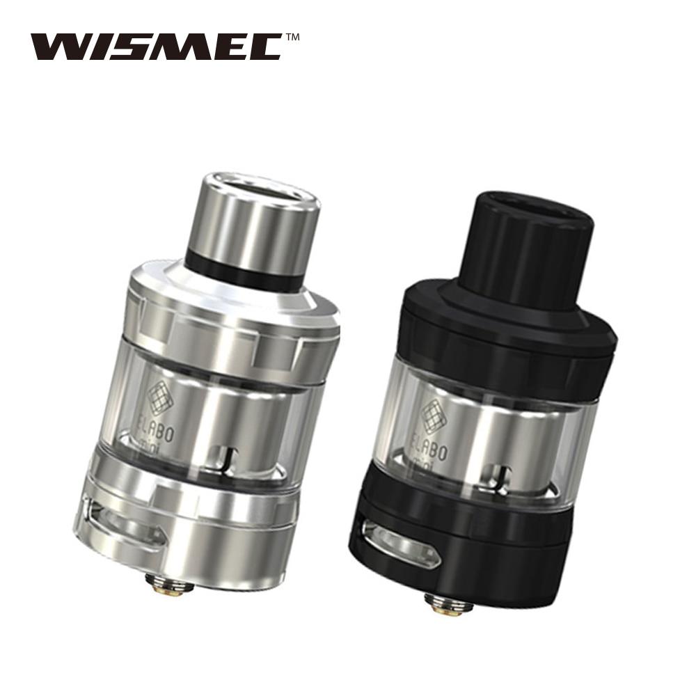 Original Wismec Elabo Mini Tank 2ml Atomizer With WS01 Triple 0 2ohm sub ohm coil head