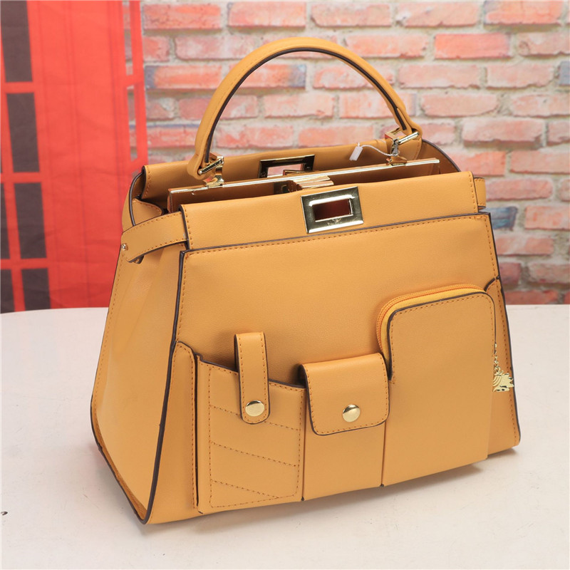 2019 Summer Large Capacity Multi pocket Women Purse and Handbags Casual Fashion Solid Shoulder Messenger Bags