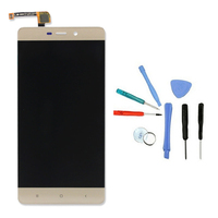 LINGWUZHE LCD Display Touch Digitizer Assembly Black With Repair Toolkit For Xiaomi Redmi 4 Pro 5
