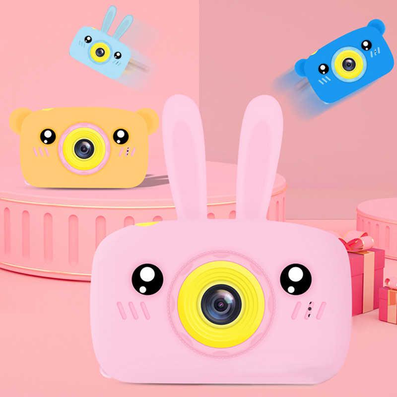 Schermo HD Digital Macchina Fotografica di 16MP Anti-Shake Viso Detection Videocamera In Bianco Punto E Sparare Fotocamera Digitale Portatile Sveglio del Bambino
