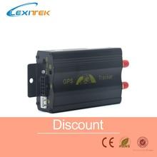 Автомобильный gps трекер система gps/GSM/GPRS Автомобильное устройство слежения за автомобилем TK103 без розничной коробки