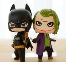 2016 Funko Pop The Joker The dark Knight Trilogy Batman 10cm Vinyl Bobble Head Toys PVC Action Figure brinquedos Super Hero