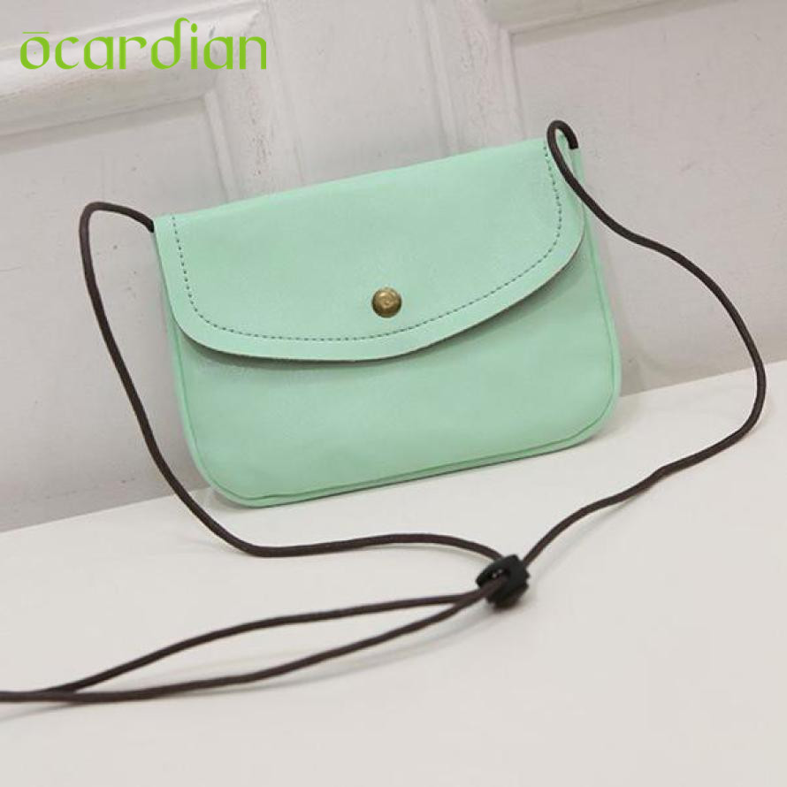 Ocardian Elegance Hot Women Leather Messenger Crossbody Shoulder Bag Satchel Handbag Purse Tote 17Mar06 Dropshipping