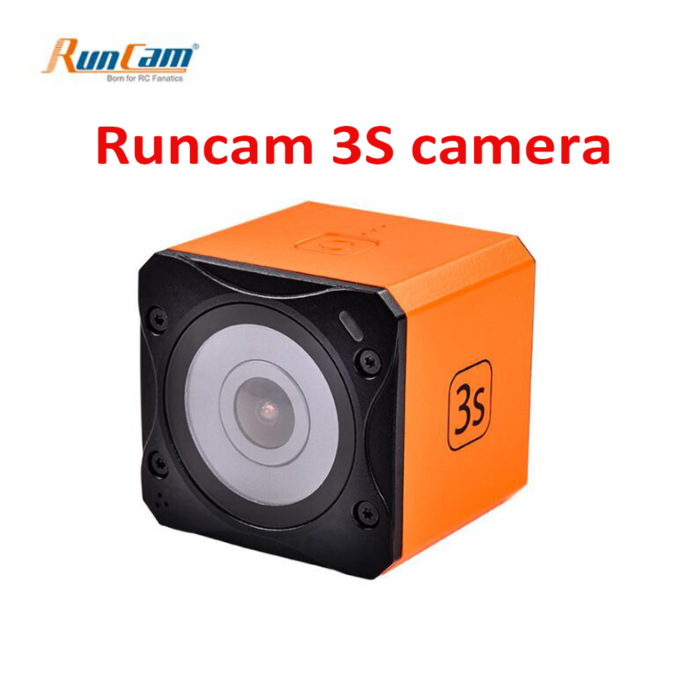 Runcam 3S NTSC PAL Switchable design for Racing FPV with WIFI connection and Replaceable Battery Runcam3