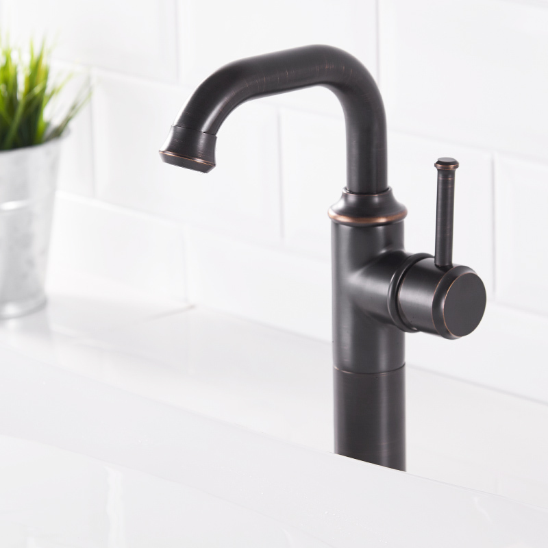 Basin Faucets Antique Black Oil Rubbed Bronze Brass Bathroom Faucets Sink Basin Mixer Tap Cold Hot Water Mixer Tap Torneira basin faucets antique black oil brass crane bathroom faucets hot and cold water mixer tap contemporary mixer tap torneira