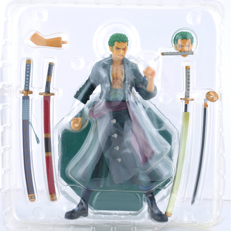 Anime One Piece 23cm P.O.P POP Roronoa Zoro After 2 Years Figure Toy Action Figure Collection Model Toy