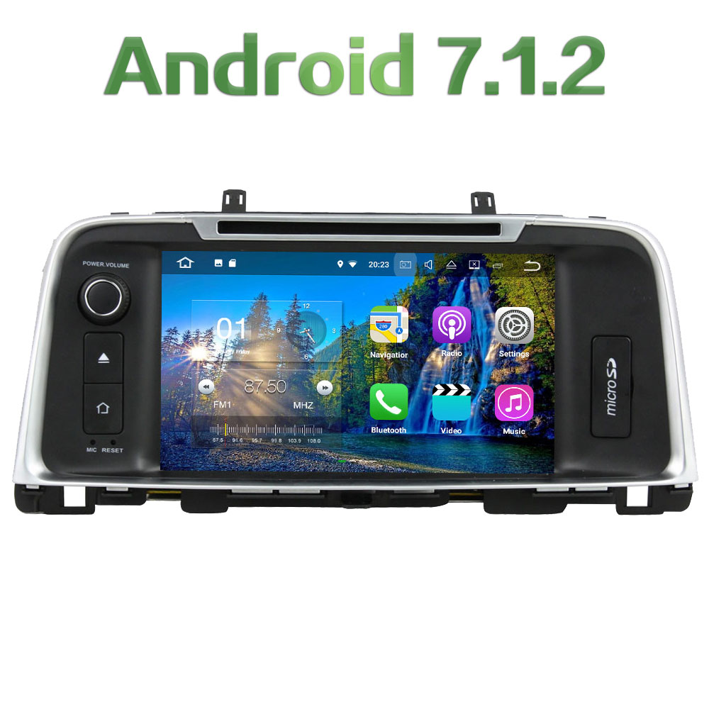 Android 7 1 2 2 din Quad core 8 2GB RAM 16GB ROM Car DVD Multimedia