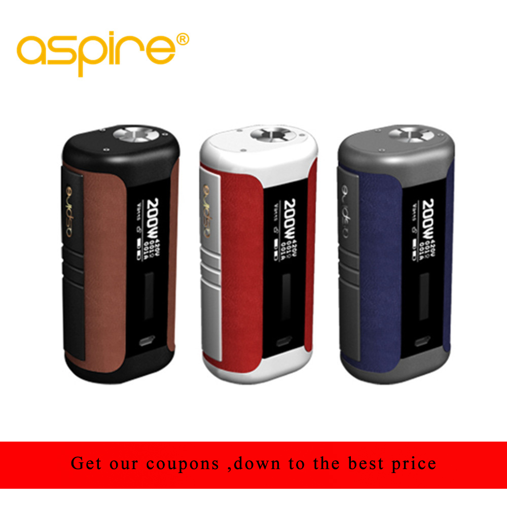 original Aspire Speeder Mod 200W E Cigarette Speeder Box Mod Vape Powered by Dual 18650 Battery Fits Revvo Tankoriginal Aspire Speeder Mod 200W E Cigarette Speeder Box Mod Vape Powered by Dual 18650 Battery Fits Revvo Tank