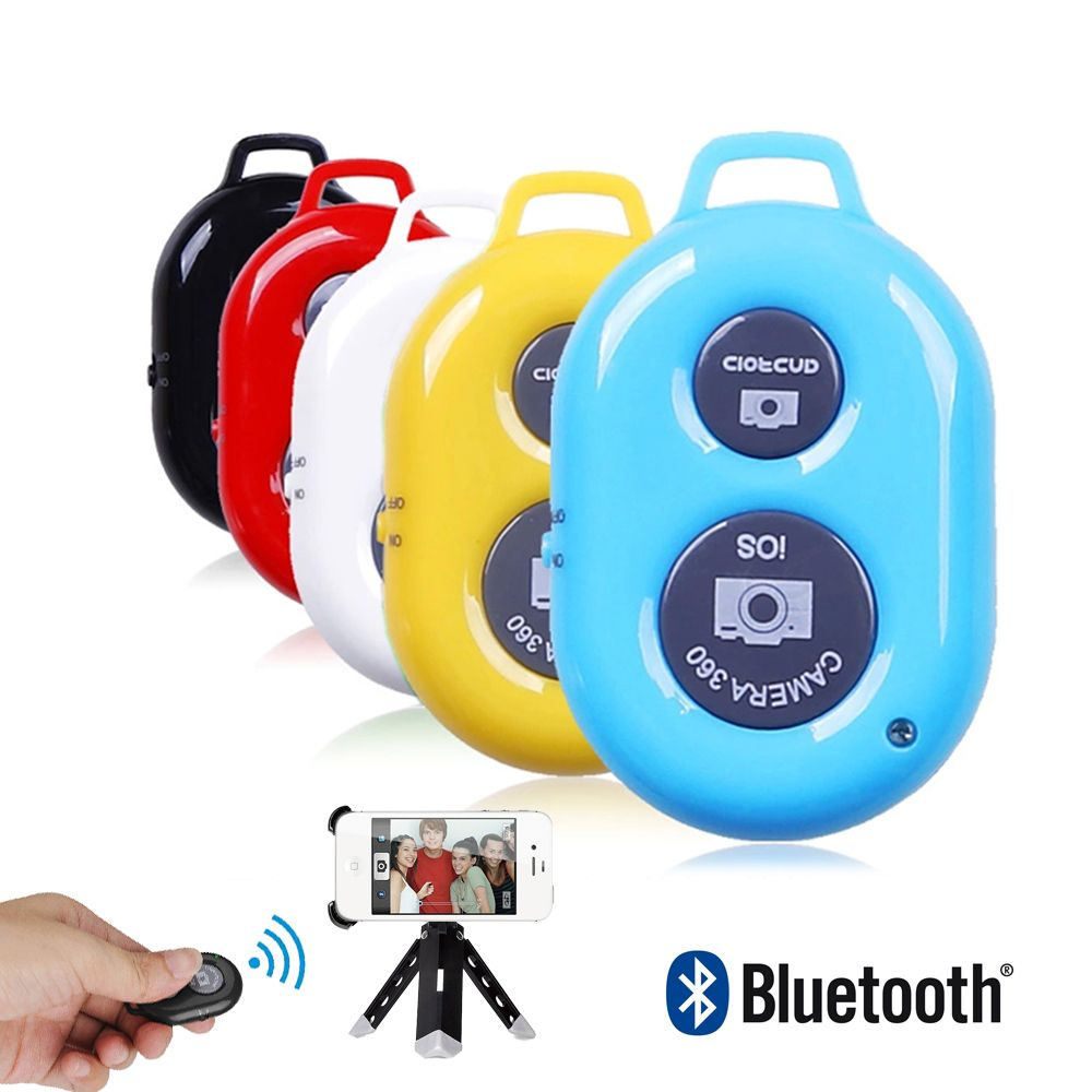 Mini Wireless Bluetooth 3.0 Remote Controller Selfie Camera Shutter For Mobile Phone Holder Tripod Selfie Sticks For IOS Android