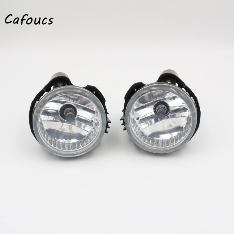 Cafoucs Car Front Bumper Fog light Driving Fog Lamp For <font><b>Subaru</b></font> Forester 08-13 Impreza <font><b>WRX</b></font> <font><b>STI</b></font> 08-10 image