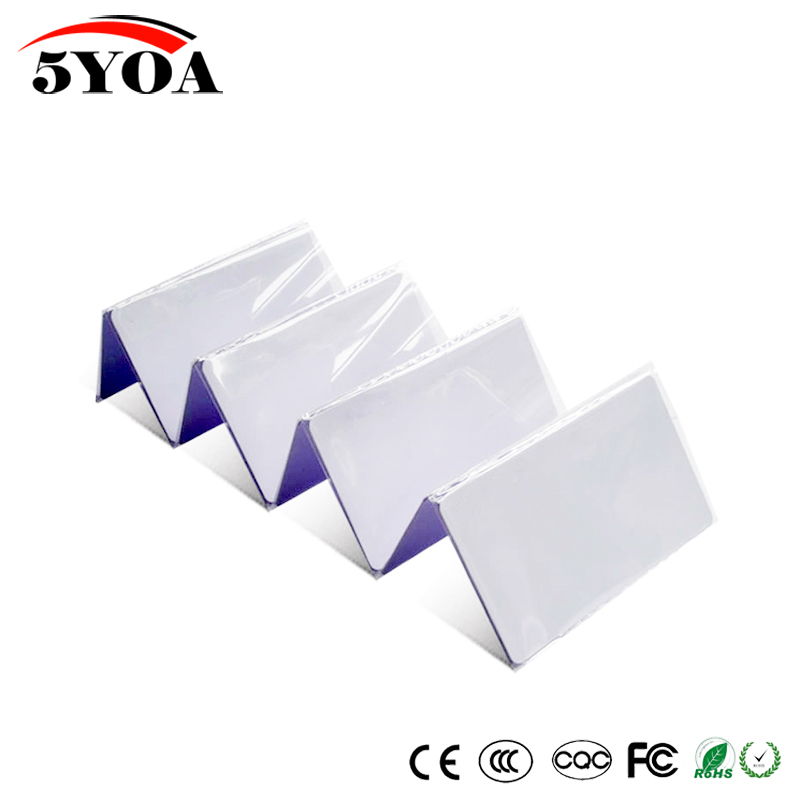 10pcs EM4305 T5577 Duplicator Copy 125khz RFID Tag llaveros llavero Porta Chave Card Sticker Key Fob Token Ring Proximity