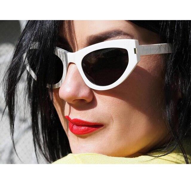3b7783a038fbe 2018 NEW Cute Sexy Retro Cat Eye Sunglasses Women Small Black White 2018  Triangle Vintage Cheap Sun glasses Red Female UV400
