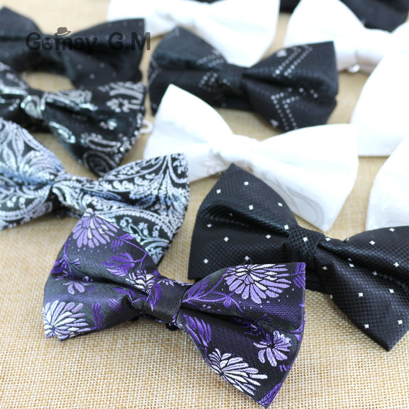 Newest Fashion Rattan flowers Classic Polyester Mans Bowtie Adjustable Wedding Groom Bow Ties High Quality Bowties for Men