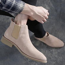Men Oxford Shoes Dress Real Leather Boots For Casual Walking Shoe Cow Suede  Chelsea mens leather shoes