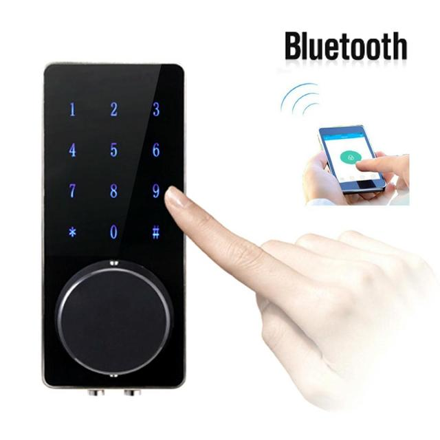 Gentil Smart Phone Wireless Door Lock Bluetooth Lock With Touch Screen Password