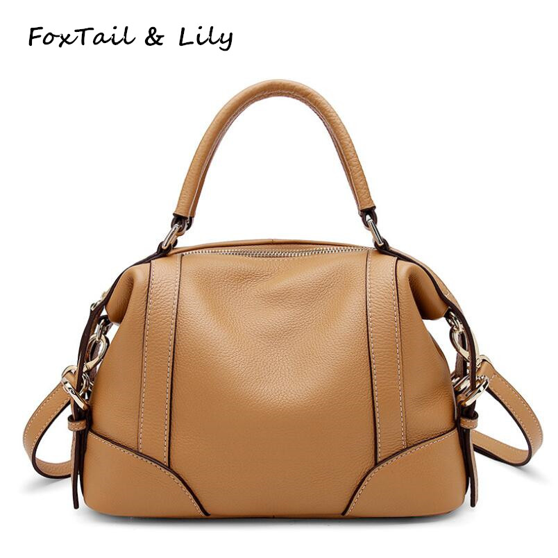 FoxTail   Lily Original Design Women Real Leather Bag Luxury Quality Small  Handbags Genuine Cow Leather cdf0e4ea36