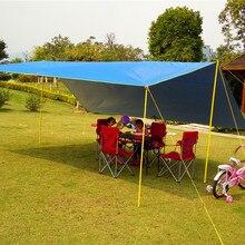 5*4,5 м супер большой размер дизайн швы с ленточным покрытием брезент/беседка/солнцезащитный тент палатка/тент без полюсов