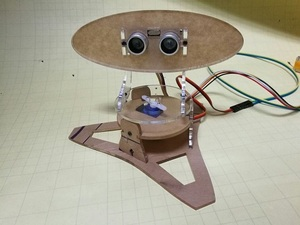 Image 2 - لتقوم بها بنفسك الاكريليك مايكرو بالموجات فوق الصوتية رادار Duino تطبيق للتعليم التعلم 400 مللي متر كشف المسافة بالموجات فوق الصوتية جهاز الإرسال والاستقبال