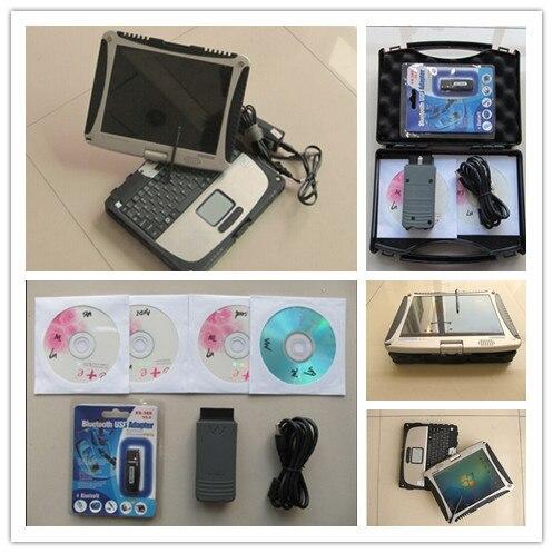 VAS5054 VAS 5054a OKI UDS VAS Bluetooth полный чип диагностический ODIS 4.2.3 новейшее программное обеспечение установлен в CF19 Ноутбук готов к использованию