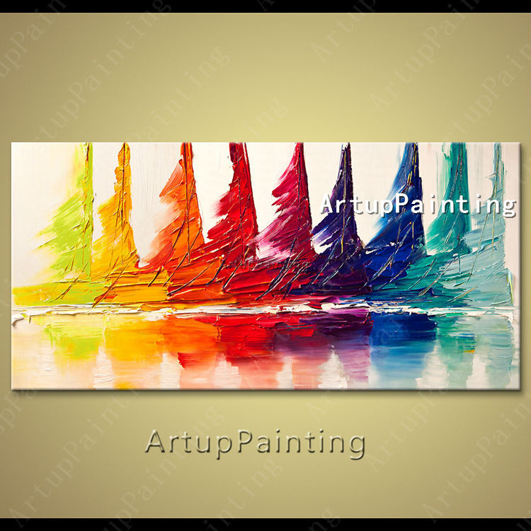 Aliexpress.com : Buy Hand painted canvas oil paintings