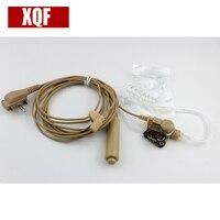XQF 10 PZ Auricolare Acoustic Aria Tubo Auricolare Auricolare PTT per Vertex Standard VX131 VX230 VX231 VX261 Walkie Talkie