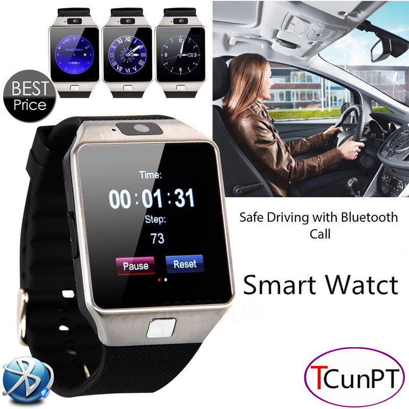 2016 New Fashion Smart Watch With Camera Bluetooth WristWatch SIM Card Smartwatch For Ios Android Phones