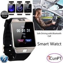 2016 nueva moda smart watch con cámara tarjeta sim reloj de pulsera bluetooth smartwatch para android ios teléfonos soporte multi idiomas