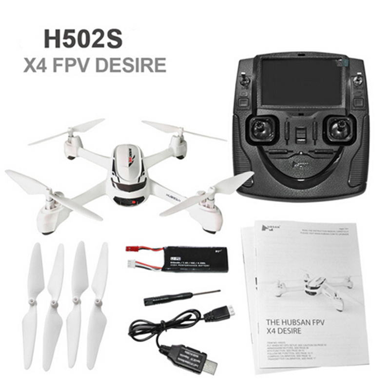 Hubsan X4 H502S drone 5.8G FPV with 720P HD Camera GPS Altitude Mode RC Quadcopter rc plane RTF gps навигатор lexand sa5 hd