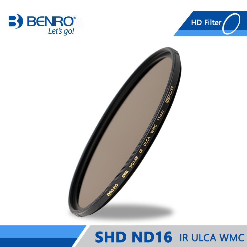 Benro SHD ND16 IR ULCA WMC Filter High Quality Optics ND Filters Waterproof Anti oil Filter